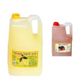 מיץ לימון וחומץ
